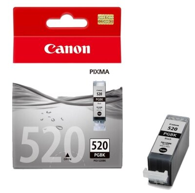 "Картридж Canon ""PGI-520BK"" (черный)  Картридж Canon ""PGI-520BK"" (черный) для PIXMA iP3600/4600/MP540/620/630/980 (19мл)"