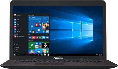 НОУТБУК ASUS X756UQ-T4216T (90NB0C31-M02350) BLACK  НОУТБУК ASUS X756UQ-T4216T (90NB0C31-M02350) BLACK