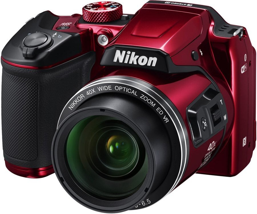 Фотоаппарат NIKON Coolpix B500 Red