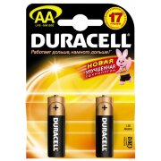 Duracell LR6-2BL 2шт АА